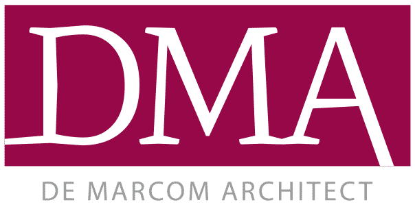 De Marcom Architect logo